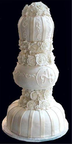 Tmx 1440262796470 Tower Of Roses Metairie wedding cake