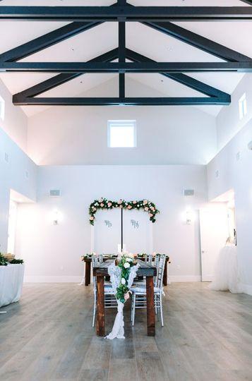 Beautiful ceremony/reception