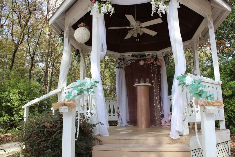 Another view of the gazebo