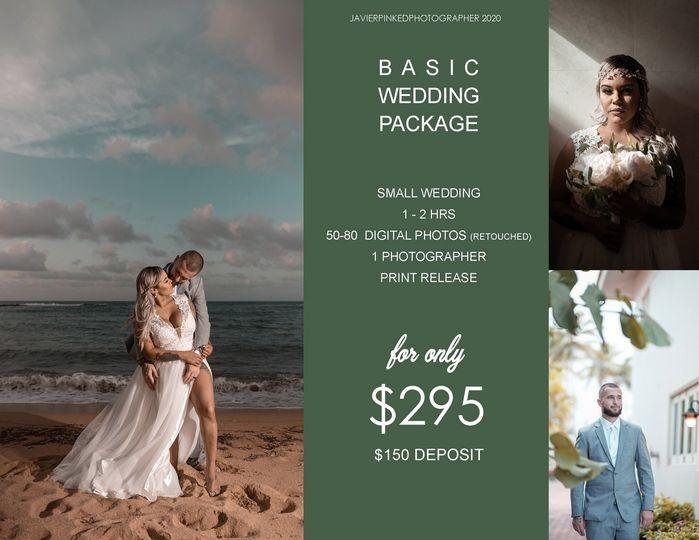 basic wedding package 51 933989 157805649919492