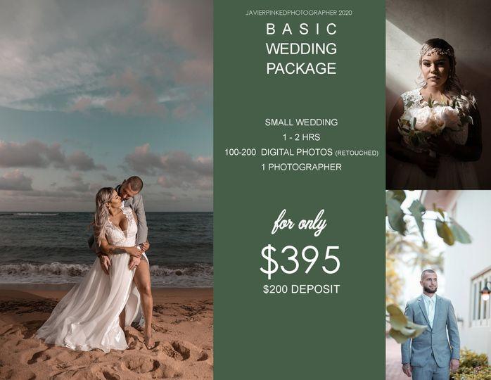 basic wedding package 51 933989 160262821591816