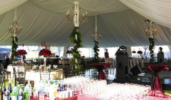 Tmx 1326206193256 PoleChandelierswithTentLinerDaytime2 Wakefield wedding rental