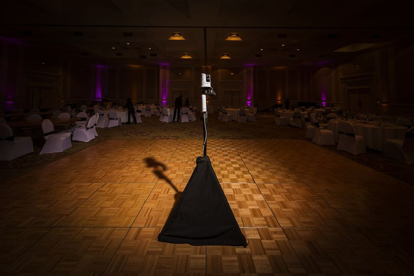 Our VIDI system blends into the background so that you are the highlight at your own wedding.