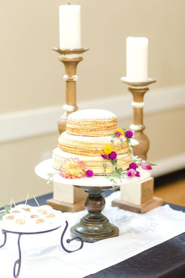 The Crepe Cakerie - Wedding Cake - Cary, NC - WeddingWire