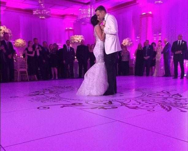 Tmx 1430162902298 White Dacne Floor Wdecal 1 West Babylon, New York wedding eventproduction