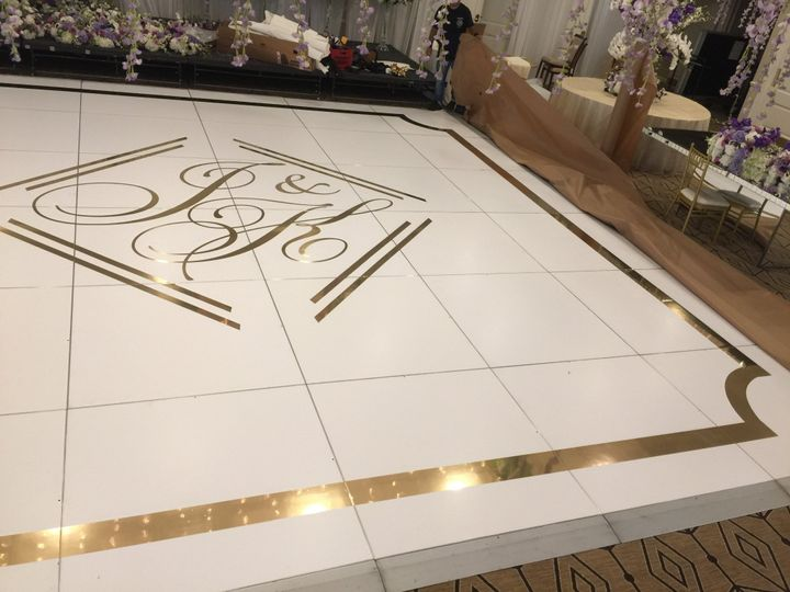 Tmx White Floor Wmirror Gold Decal And Border 2 51 706989 1562763148 West Babylon, New York wedding eventproduction