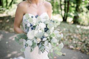 Rhinestones and Roses Floral Design