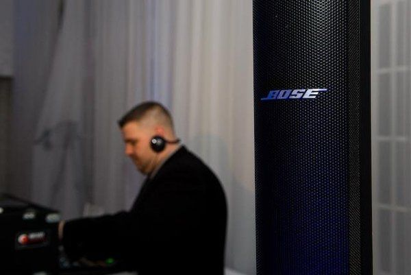 Luke at the Belle Mer in Newport highlighting his superior Bose Sound System.  Photo Courtesy of...