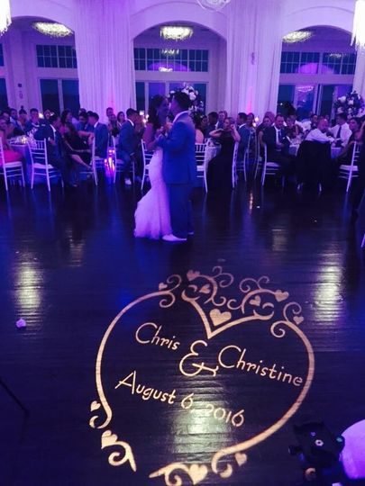 First Dance Monogram