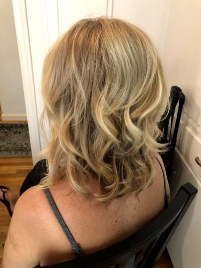 Bridal Blowout and Curls