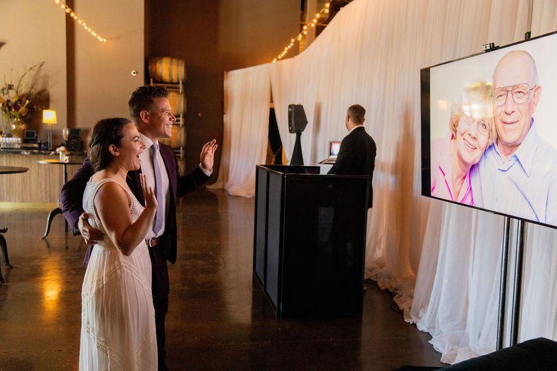 Livestream your wedding!
