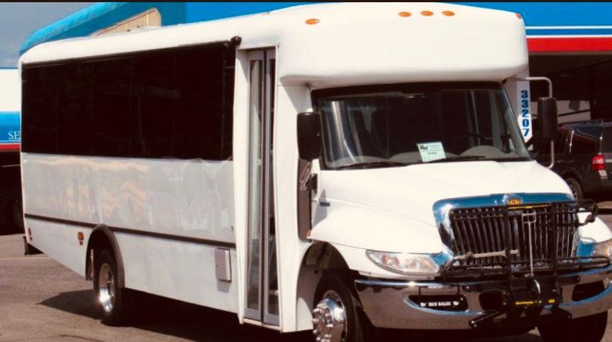 28-passenger guest shuttle