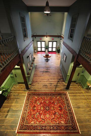 Extravagant hardwood floors