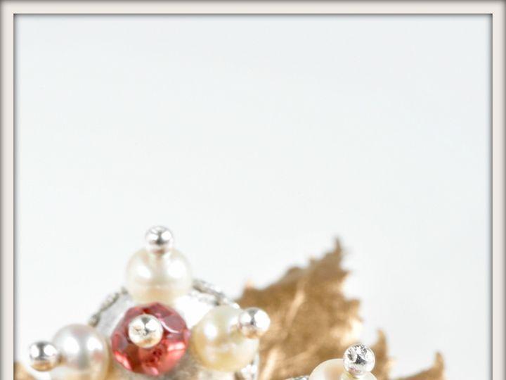 Tmx 1471323650151 Aphrodite White Pearl And Garnet Stud Earringsalt2 Seattle wedding jewelry