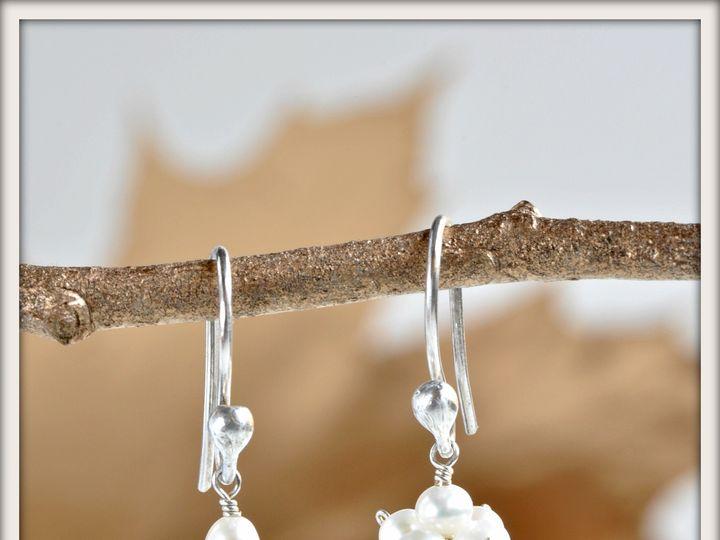 Tmx 1471323711873 Garden Mist White Pearl And Citrine Drop Earrings Seattle wedding jewelry