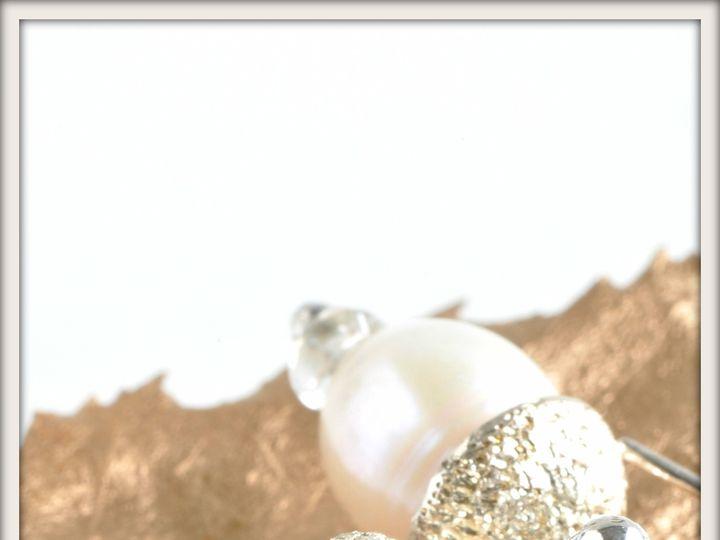 Tmx 1471323721729 Large Acorn White Pearl And Aquamarine Earringsalt Seattle wedding jewelry