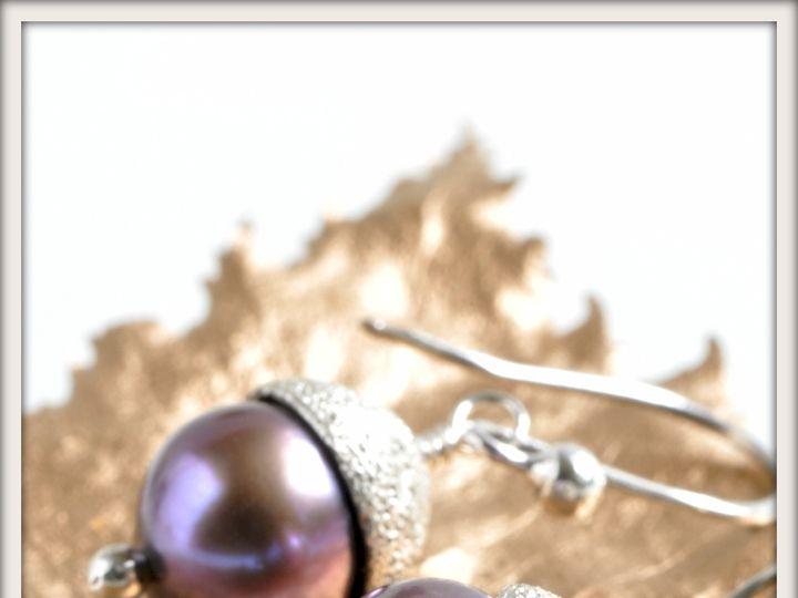 Tmx 1471323731978 Large Bon Bon Black Pearl Earringsalt Seattle wedding jewelry