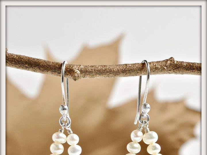 Tmx 1471323771391 Miyabi White Pearl Earrings Seattle wedding jewelry