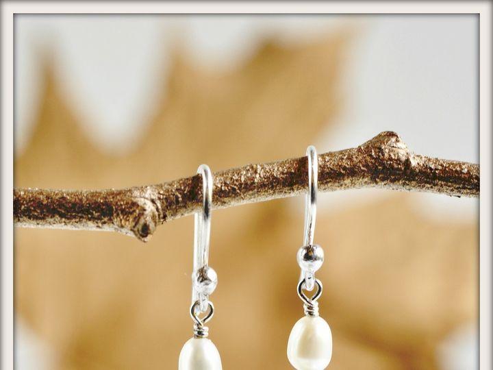 Tmx 1471323859644 Swing Drop White Pearl Earrings Seattle wedding jewelry