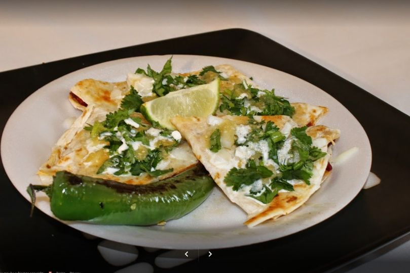Quesadilla with pepper