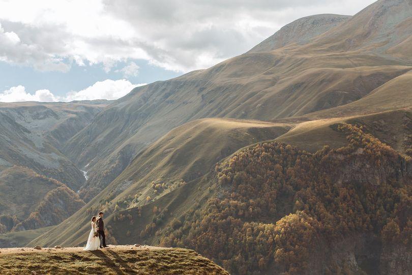 Wedding in Gerogia, Gudauri