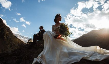 The wedding of Jury and Svetlana