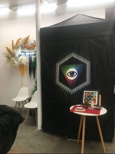 Aura photo booth
