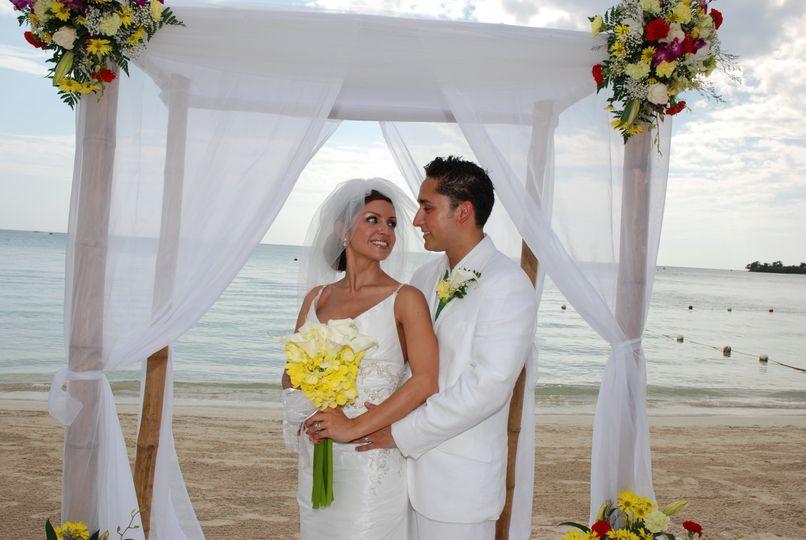 The Ochoas destination wedding