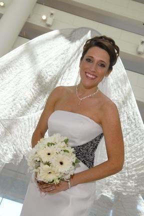 Cheryl was a radiant bride!