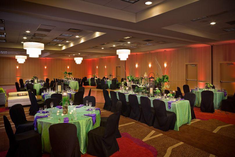 Campbell Ballroom with dance floor