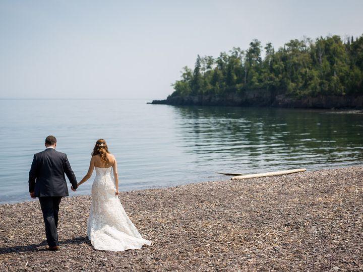 Tmx 1444422068544 Backs On Beach Two Harbors, MN wedding venue