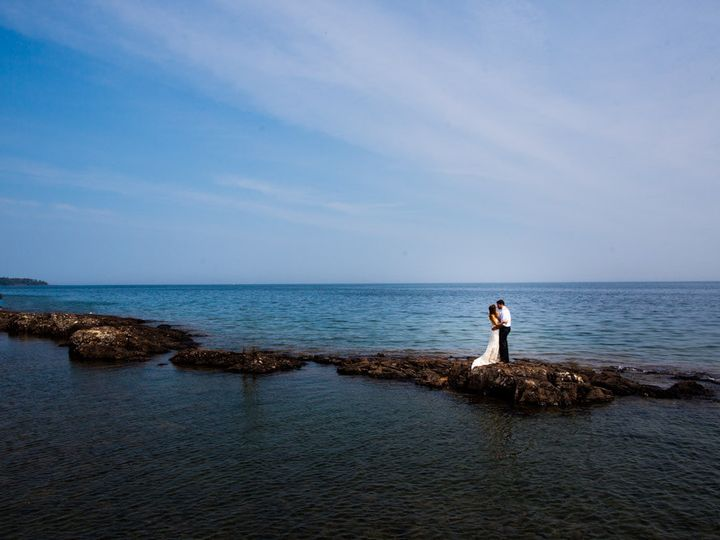 Tmx 1444422115068 Couple On Rocks Two Harbors, MN wedding venue