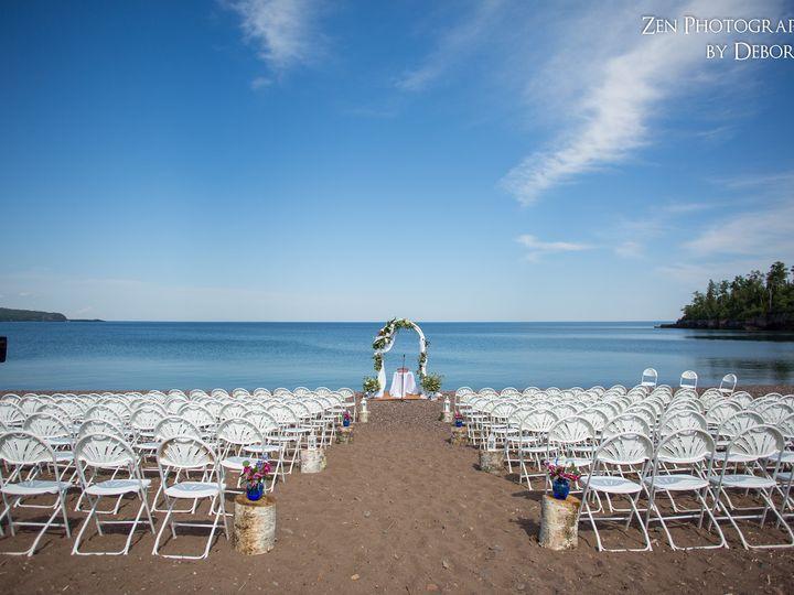 Tmx 1444423253116 Beach Set Up Two Harbors, MN wedding venue