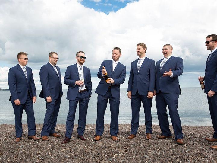 Tmx 1490110826319 Guys On Beach Lara Leimbach Two Harbors, MN wedding venue