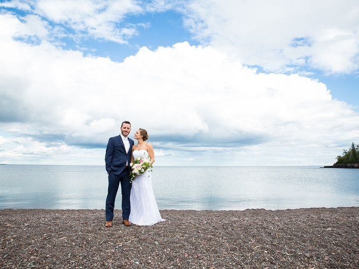 Tmx 1490111032211 Couple On Beach Lara Leimbach Two Harbors, MN wedding venue