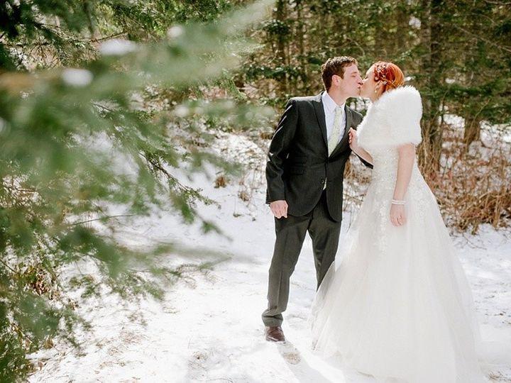 Tmx 1490111062292 Kissin Woods Winter Two Harbors, MN wedding venue