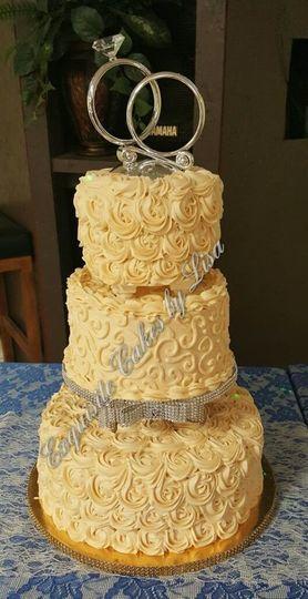Exquisite Cakes by Lisa - Wedding Cake - Houston, TX - WeddingWire