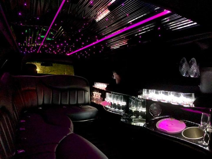 Royale Limousine Interior