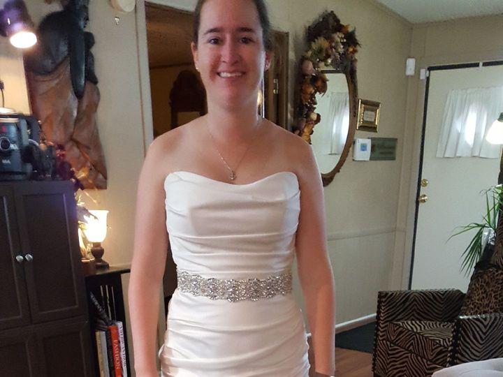 Tmx 1524661655 4f85451afa6c64b2 1524661654 E27e05a3bbae03b1 1524661649972 2 Michelle2 Garner, North Carolina wedding dress