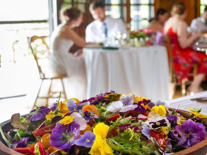 Flower platter