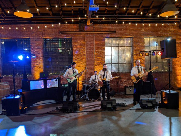 dan mcguire group band dj wedding setup 51 903099 158285913462359