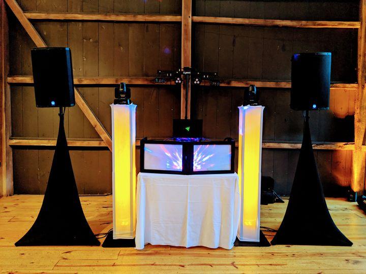 DJ Setup & Lighting