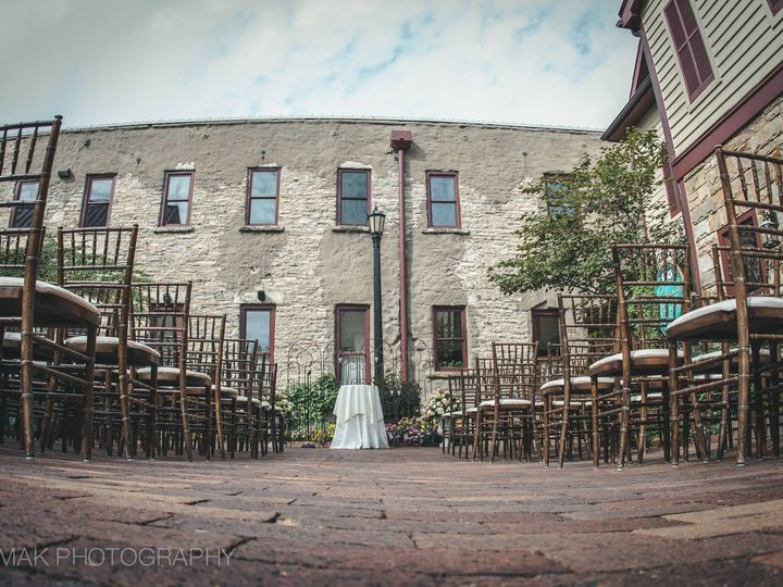 Tmx 1474214967056 Courtyard Ceremony 982016 Geneva, IL wedding venue