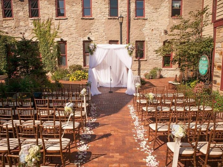 Tmx 1474215188282 Courtyard Hupa Geneva, IL wedding venue