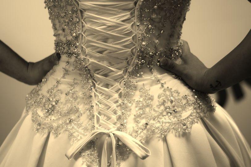 beautiful dress waist