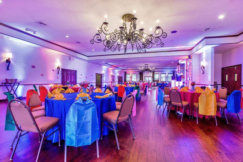 Fair Oaks Country Club Ballroom