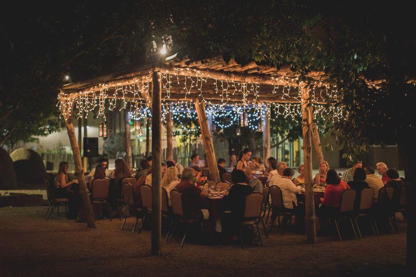 An evening reception