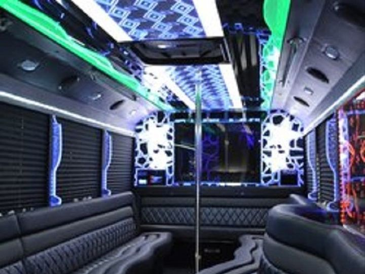 Tmx 1466696506543 28 Passenger Limo Bus Interior Morganville, New Jersey wedding transportation