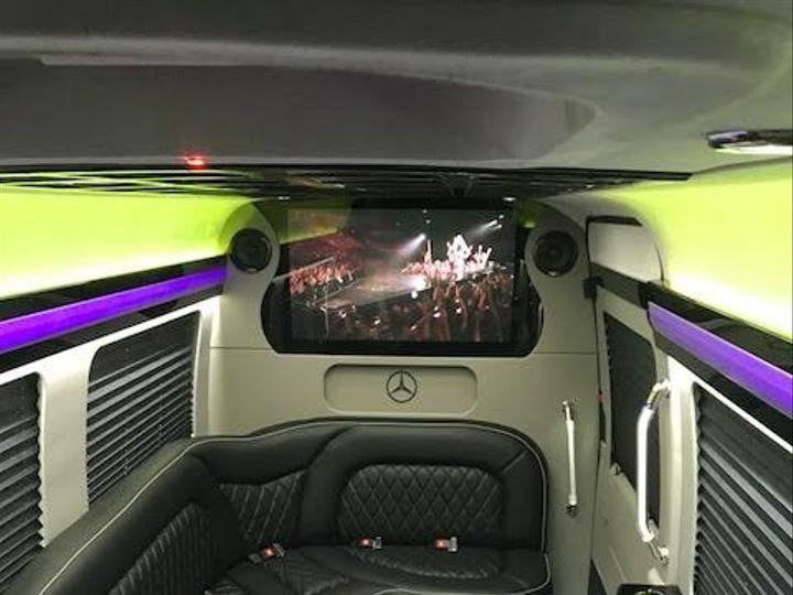 Tmx 1495811645305 Mercedes Limo 4 Morganville, New Jersey wedding transportation