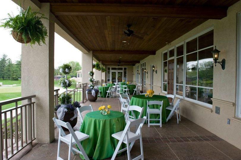 Upper Patio Reception